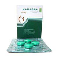 4 comprimés de Kamagra Original 100 mg dans un blister aident a traiter la dysfonction érectile