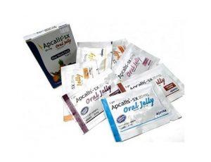 le paquet de l'apcalis oral jelly 20 mg pour renforcer l'éreciton
