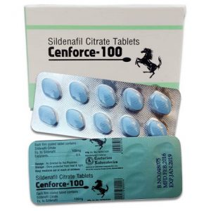 des blister et l'emballage de Cenforce 100 mg, contre la dysfonction érectile