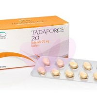 Une boite complet de Tadaforce 20 mg qui améliore l'érection chez les hommes