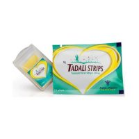 Le médicament générique Tadali Oral Strips 20 mg, sous forme des bandettes agit contre l'impuissance sexuelle