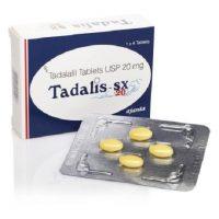 Produit complet de Tadalis SX 20 mg agit tres bien contre la dysfonction érectile