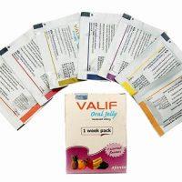 Les sachet du médicament Valif Oral Jelly 20 mg agissent contre l'insuffisance érectile