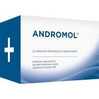 La boit du médicament Andromol