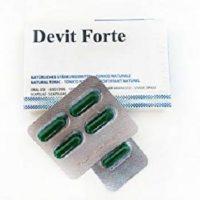 Les pilules de devit Forte dans un blister qui fonctionnent contre l'impuissance